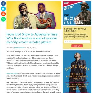 From Kroll Show to Adventure Time: Why Ron Funches is one of modern comedy's most versatile players