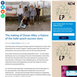 The making of Ocean Alley: a history of the indie-pysch success story